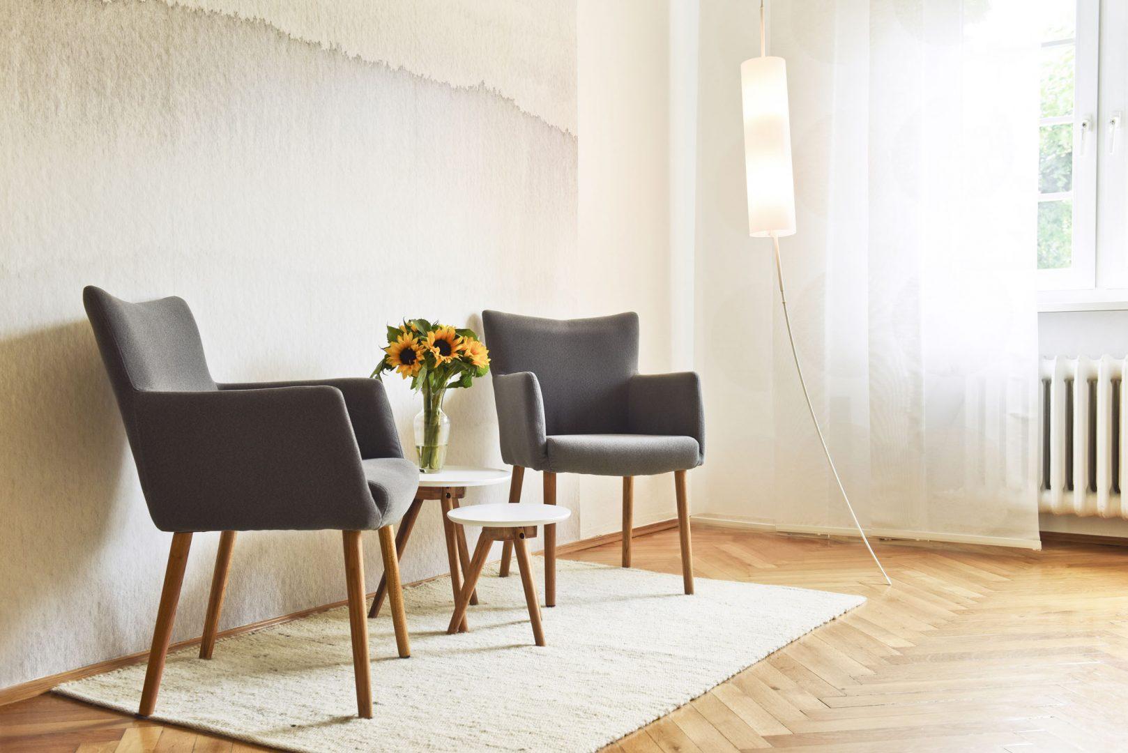 Gemütliche Sessel in der Praxis